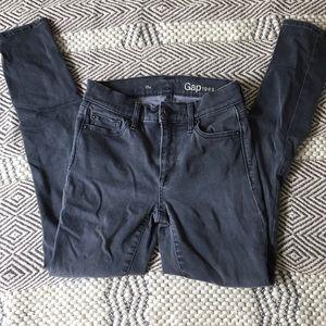 GAP Ash grey resolution true skinny jeans